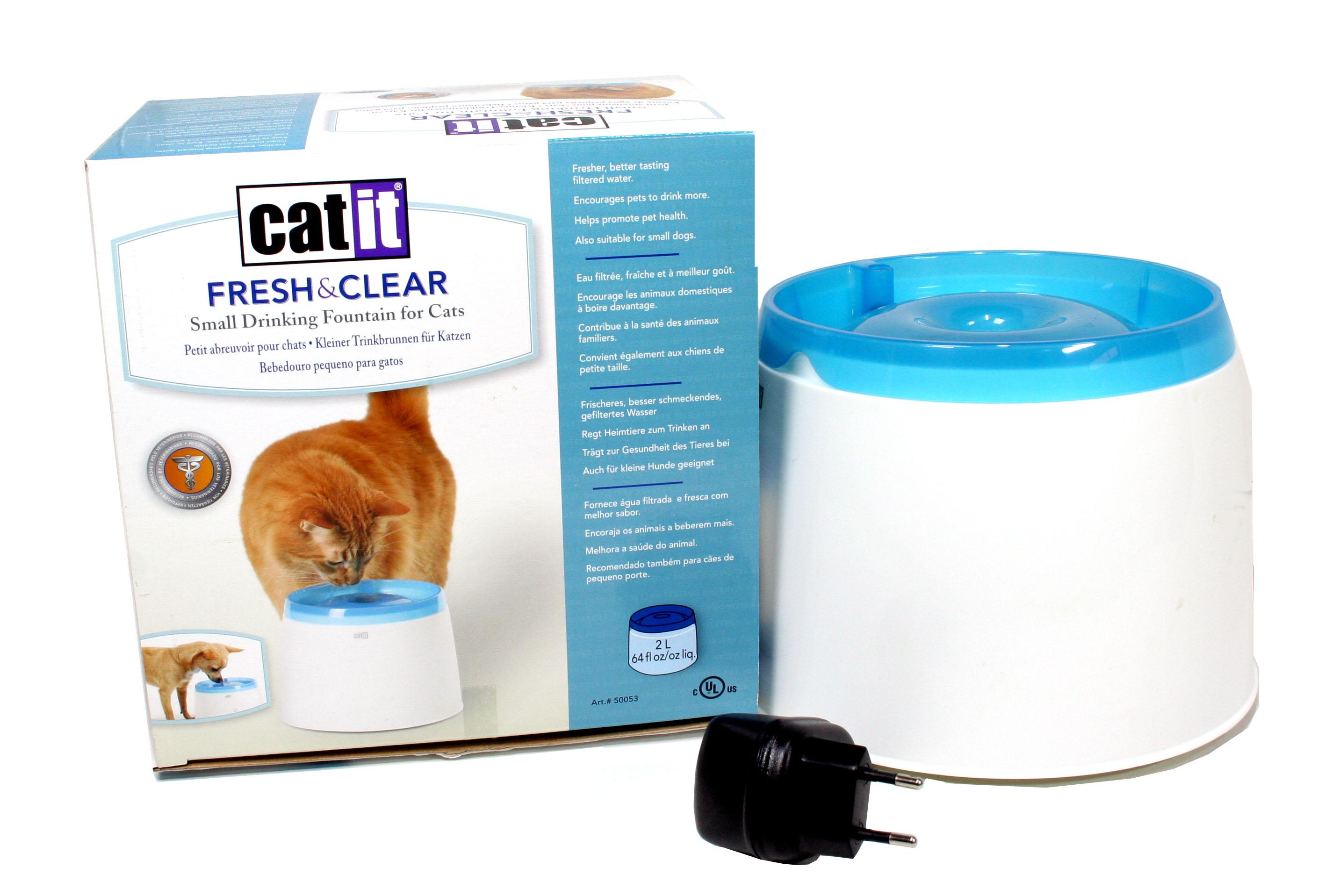 abreuvoir pour chat cat it fresh and clean le jardin des. Black Bedroom Furniture Sets. Home Design Ideas