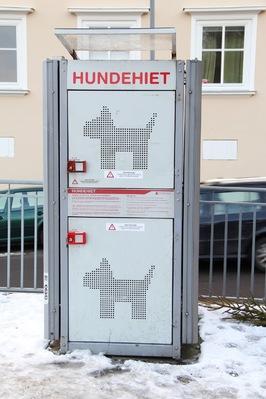 Casier pour chiens de Norvège