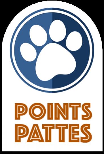 points pattes logo