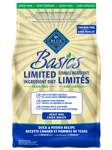 Blue Buffalo Basics, Canard pômme de terre